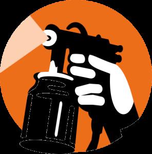 oilspraying-gun
